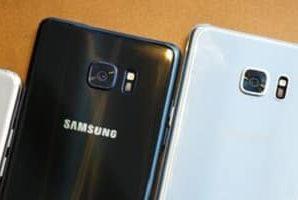 Los sustitutos del Galaxy Note 7 también se recalientan