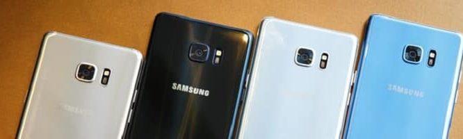 Los nuevos sustitutos de Galaxy Note 7 también se recalientan