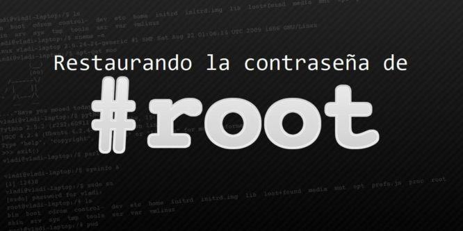 Restablecer la contraseña ROOT en Linux CentOS 7
