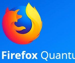 Firefox Quantum, el nuevo navegador de Mozilla