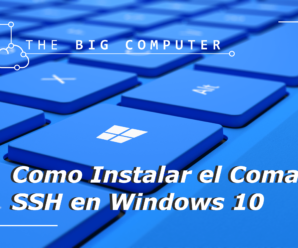 Como instalar SSH en CMD, Powershell de Windows 10